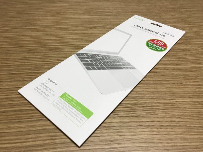 moshi Clearguard MB with Touch Bar
