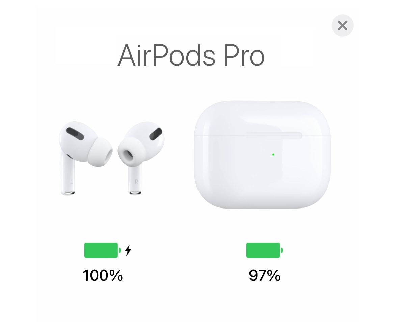 【わかりづらい】AirPodsのバッテリー残量を確認する3つの方法