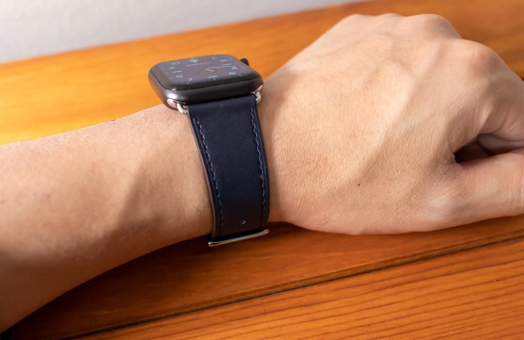 WFEAGL コンパチブル Apple Watch バンドはエルメス風