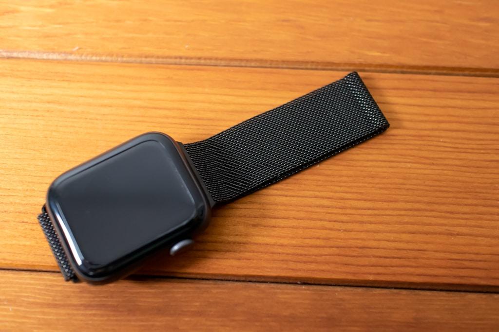 BRG コンパチブル Apple Watch ミラネーゼループバンドはスタイリッシュ