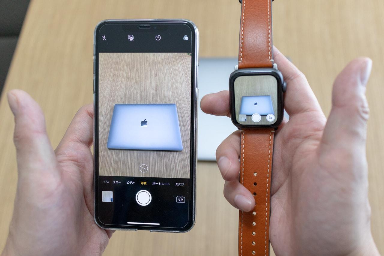 iPhoneのカメラ映像をApple Watchから見られる