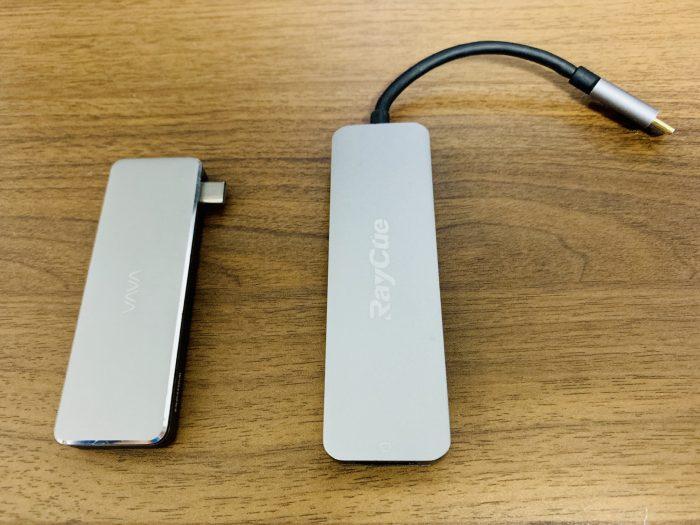 MacBook Pro USB-Cハブの種類
