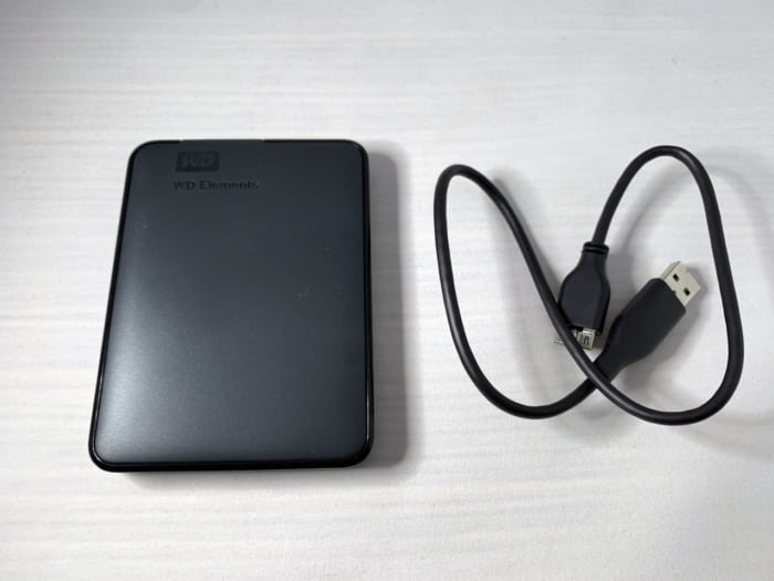 WD Elements Portable デザイン