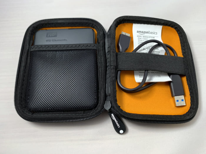 WD Elements Portable ケース