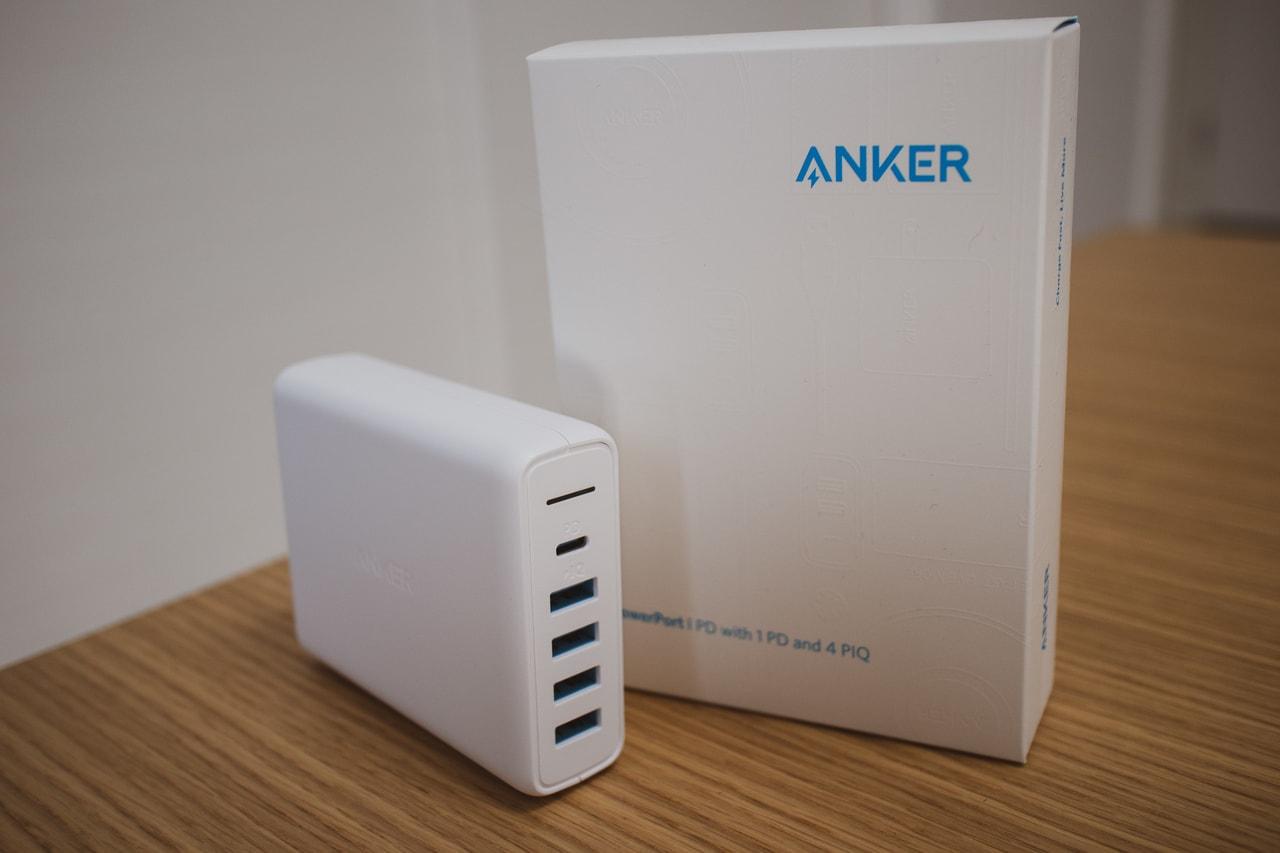 旅行や出張に最適なAnker PowerPort I PD - 1 PD & 4 PowerIQの特徴