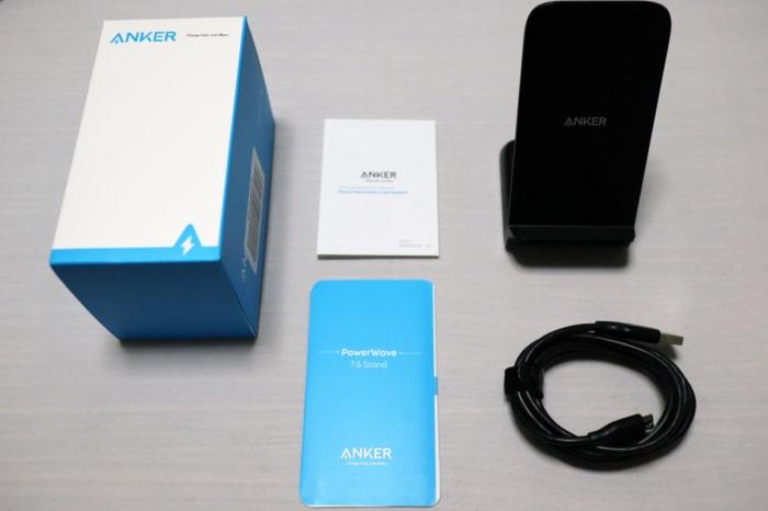 Ankerのワイヤレス充電器 PowerWave 7.5 Standの特徴