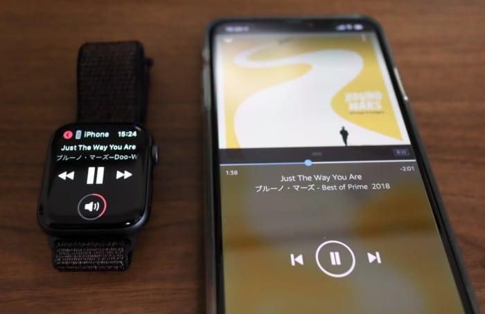 iPhone上でAmazon Musicを再生