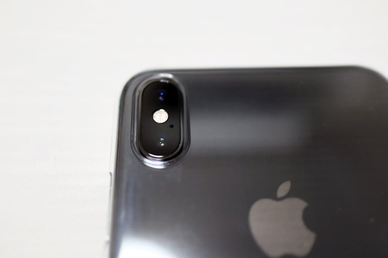 iPhonexsmax用Air Jacketカメラ部分
