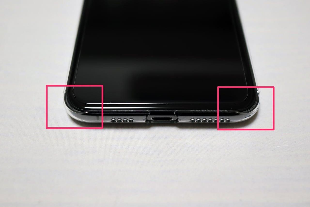 iPhonexsmax用Air Jacketくぼみ