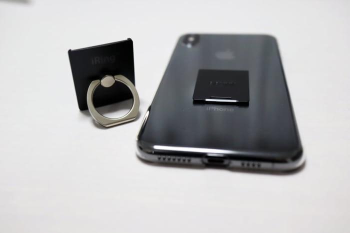 iRing Linkを外した状態のiPhone