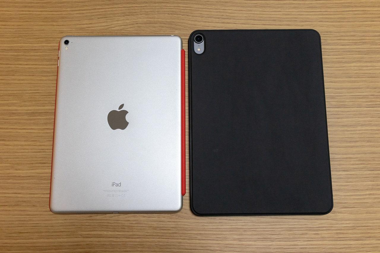 旧iPad Proと比較