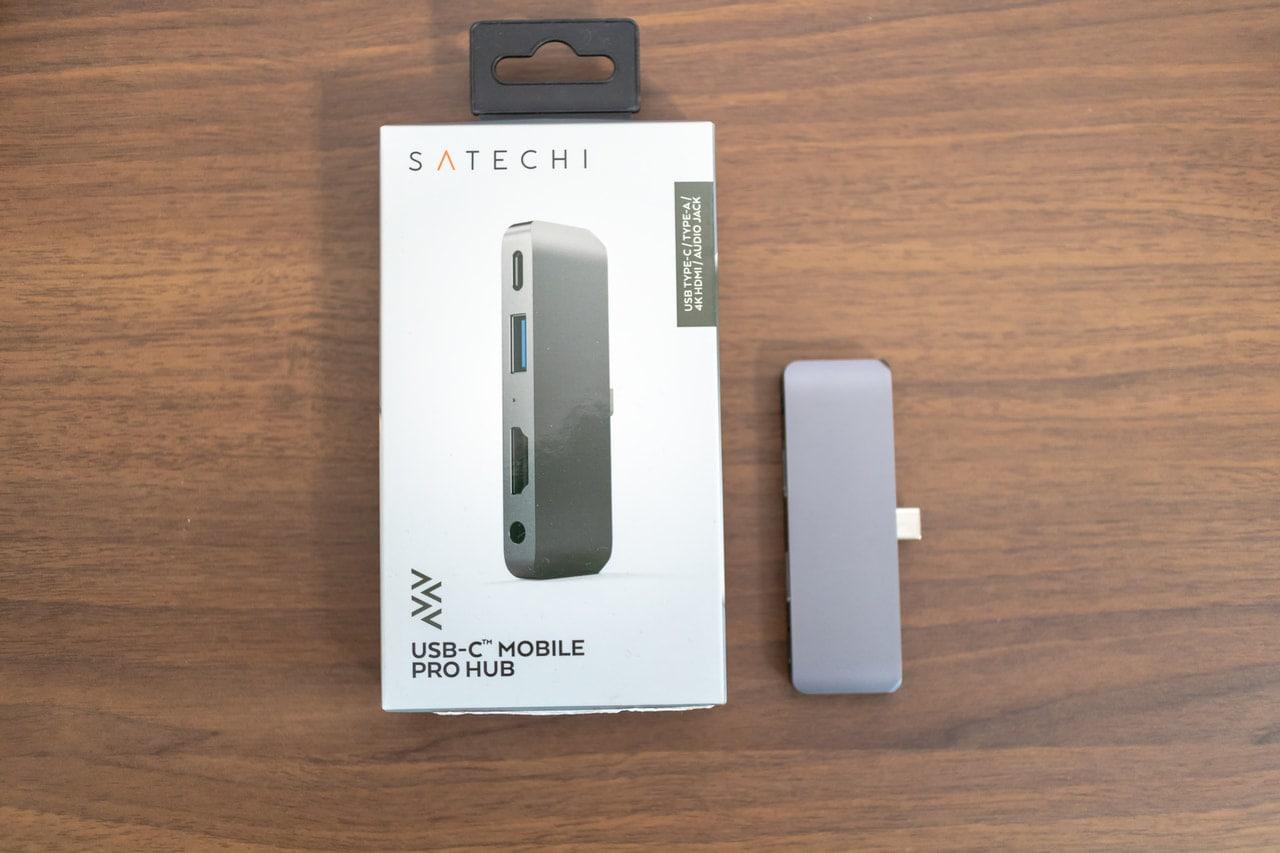 iPad Proに特化した「Satechi アルミニウム Type-C モバイル Proハブ」の特徴