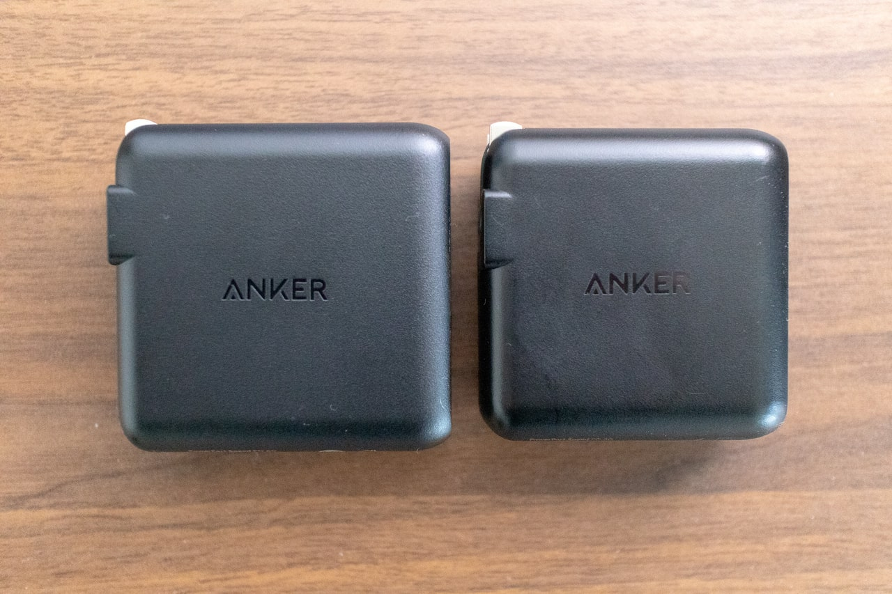 Anker PowerPort Speed 1 PD 30とAnker PowerPort Speed 1 PD 60
