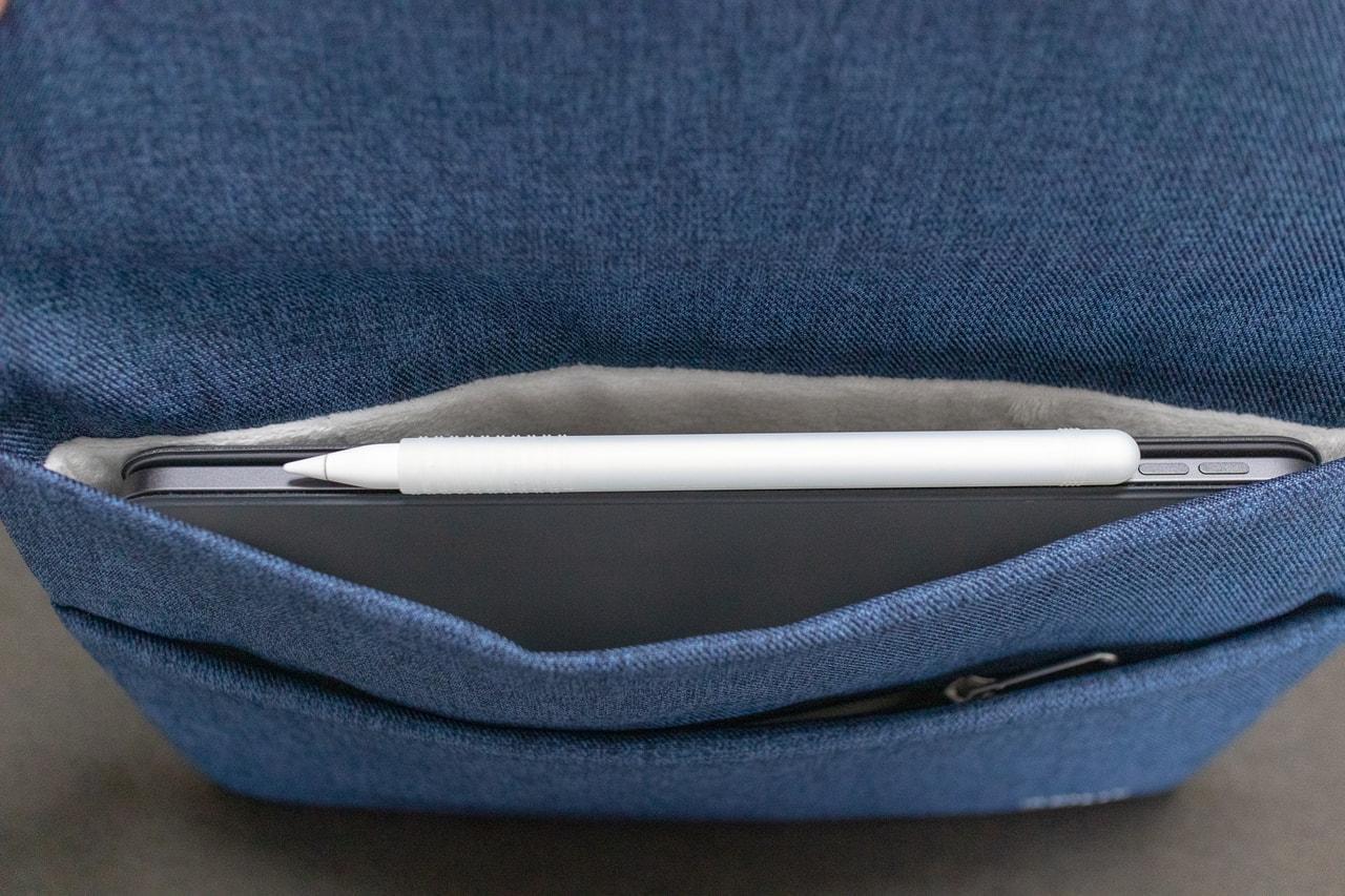 iPad Pro 11インチ用おすすめバッグインバッグ「Inateck スリーブケース」にiPad Pro 11インチを格納