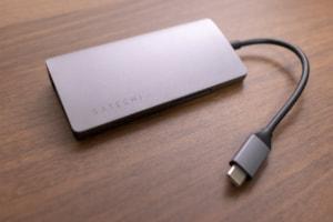 【レビュー】Macと相性抜群なSatechi V2 マルチ USB Type-Cハブ