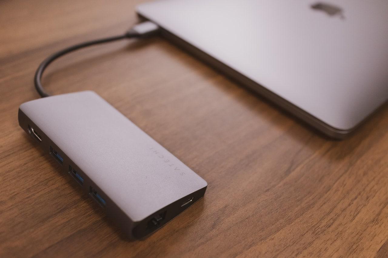Satechi V2 マルチ USB-Cハブはおしゃれ