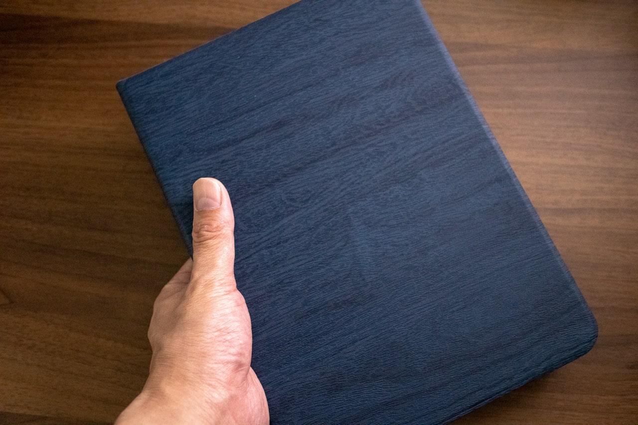 木目調がおしゃれなHBorna iPad Proケースの外観・デザイン