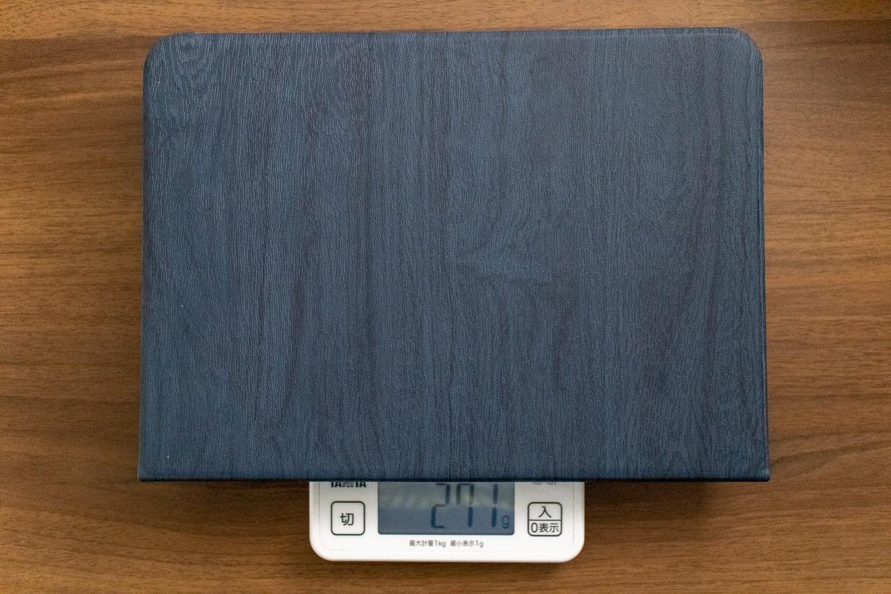HBorna iPad Proケースはそこそこ重い