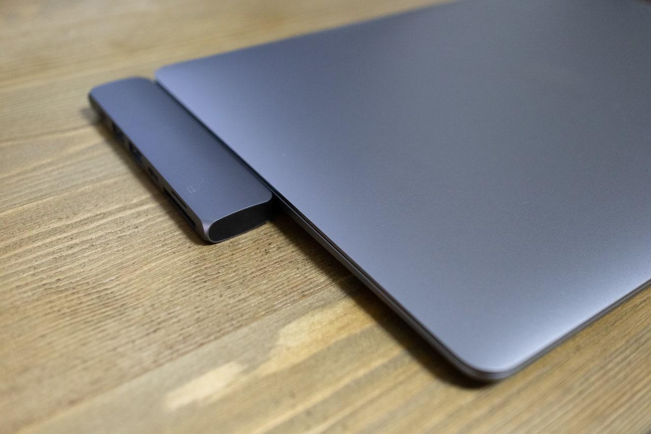 Satechi Type-C アルミニウム ProハブはMacBook Proと相性抜群