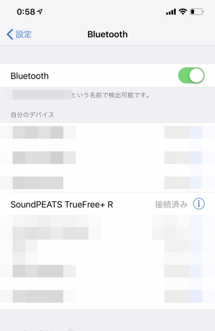 TrueFree+をペアリング