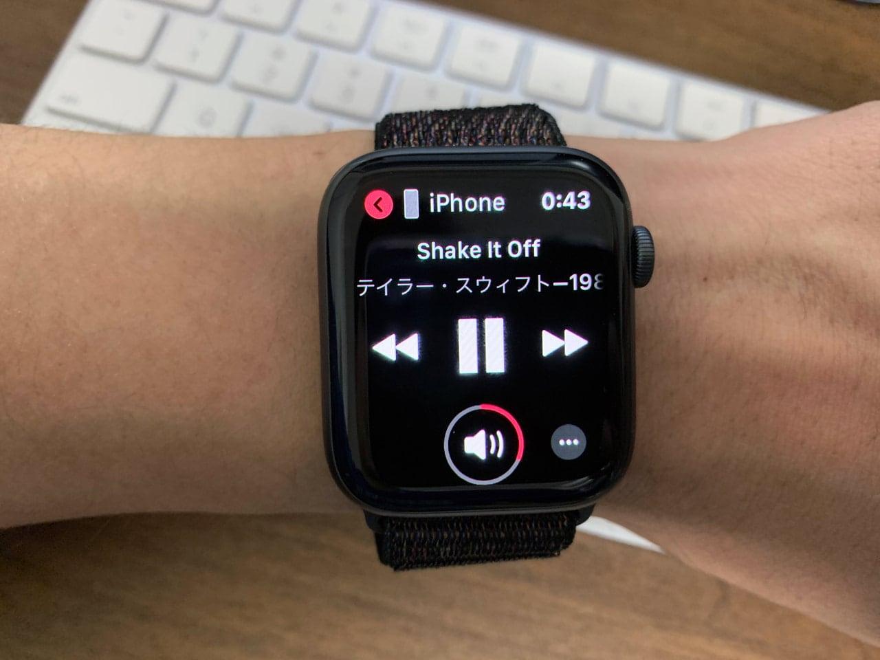 Apple Watchで操作すると便利