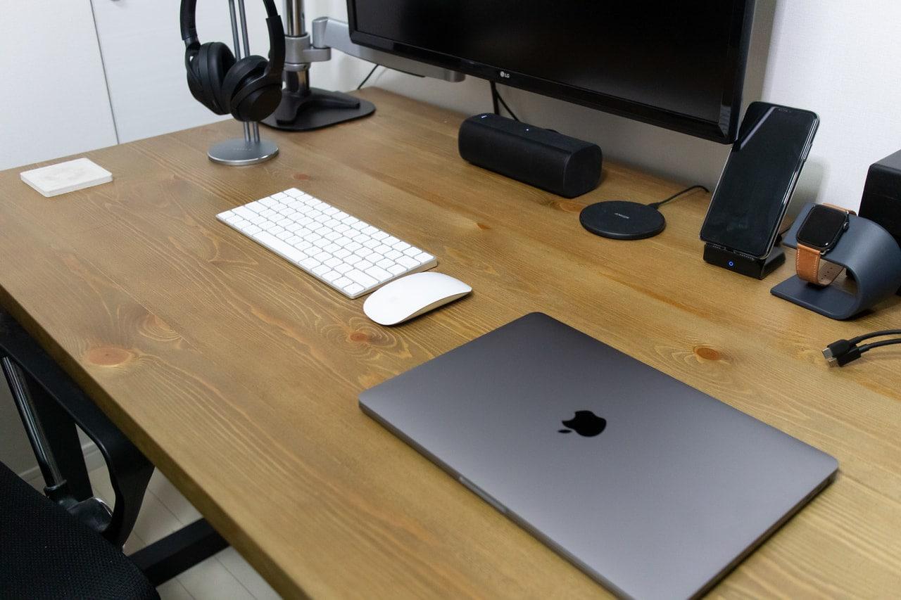 MacBook Proを寝かせておくと邪魔