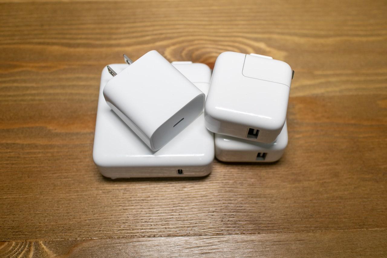 Appleの付属充電器