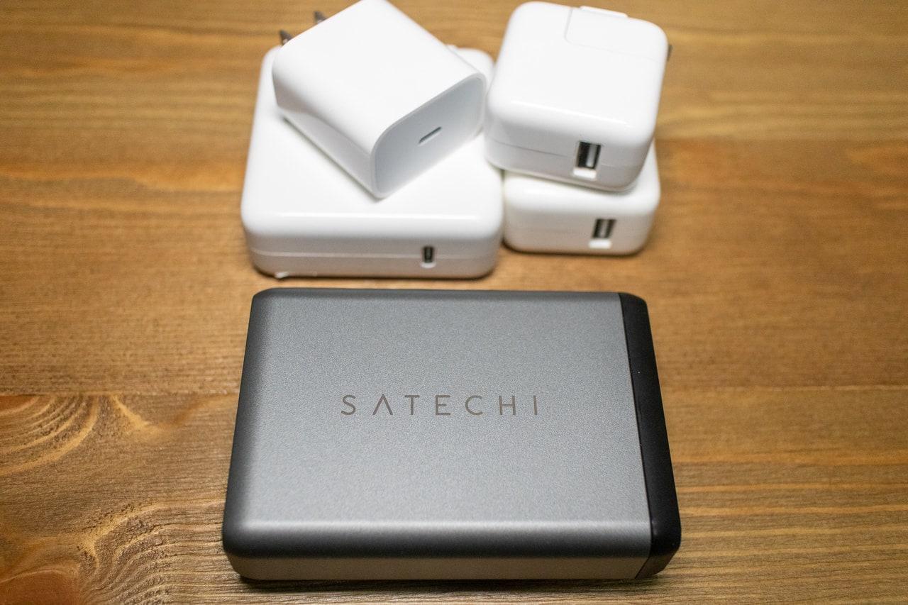 Appleの付属充電器を置き換える