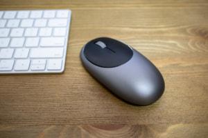【レビュー】USB-C充電できるおしゃれなマウス「Satechi M1 ワイヤレスマウス」