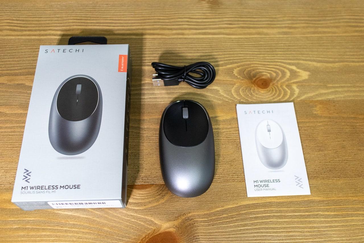 Satechi M1 ワイヤレスマウスの付属品