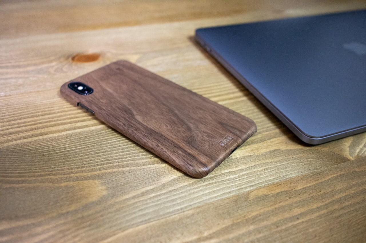 WOODWE クルミ材 ハードウッド iPhoneケース