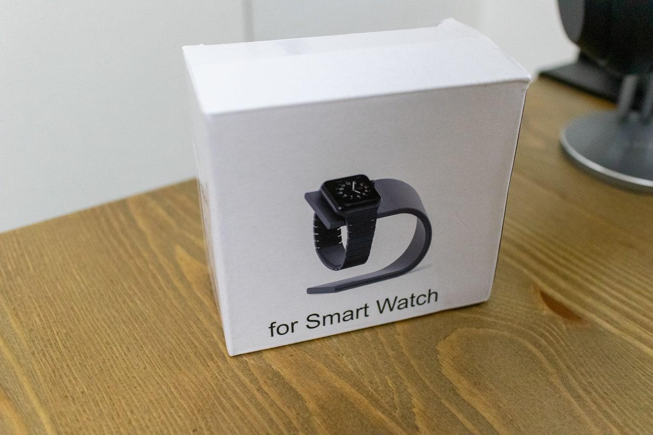 WUUDI Apple Watch 充電スタンドの外箱