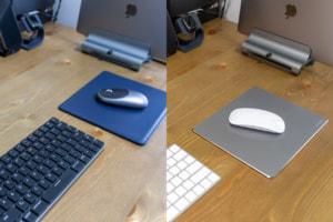 【レビュー】Macによく合うおしゃれなマウスパッド「Satechi  アルミ / ECOレザー マウスパッド」