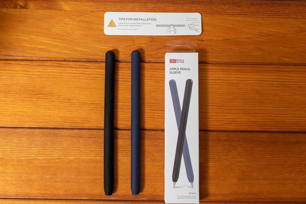 AhaStyle Apple Pencil シリコン保護ケースは2本セット