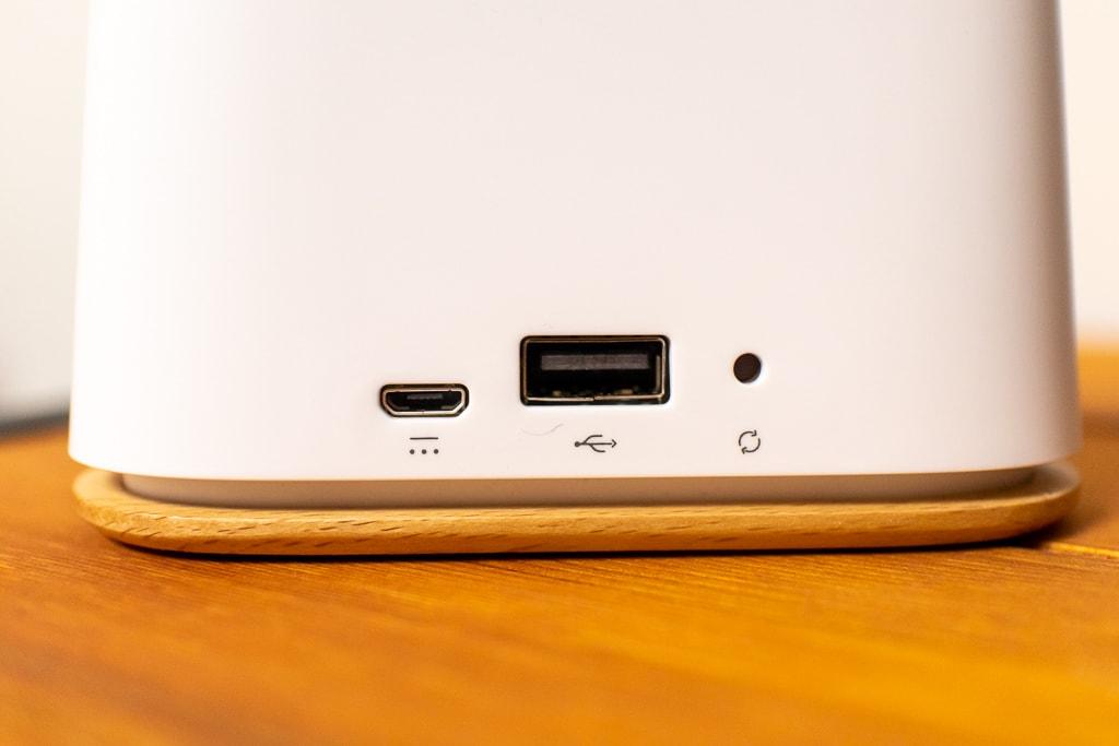Ambi Climate2のはMicro USBで給電