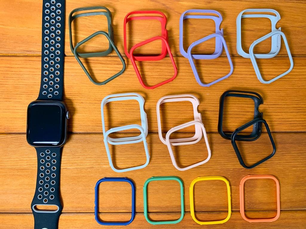 RhinoShield Apple Watch CrashGuard NXバンパーケースの組み合わせは70以上