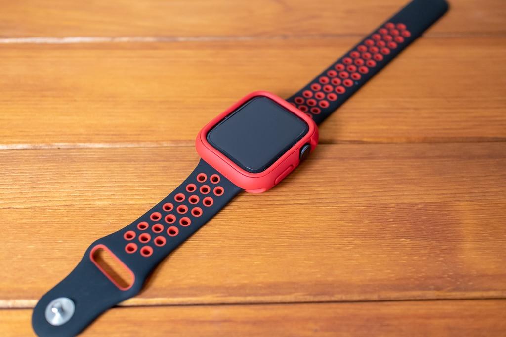 赤のケースに赤のリムで激しめのカラーも可能。