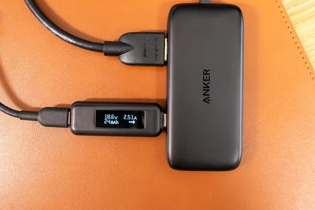 Anker 3-in-1 クラシック USB-CハブのUSB-Cポートには注意が必要