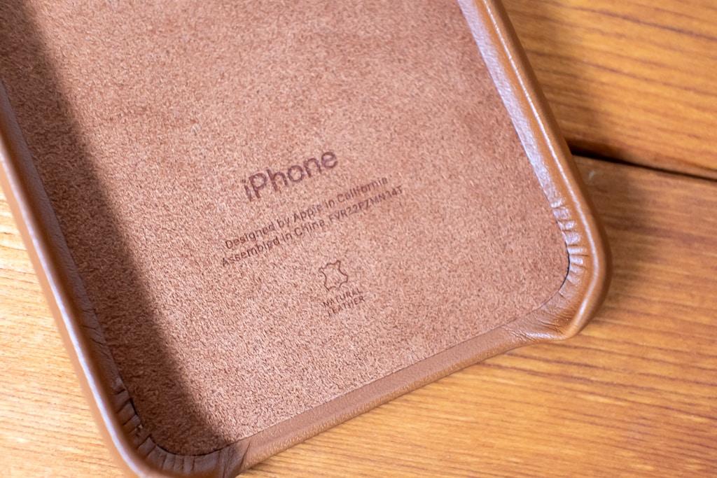 iPhoneの刻印