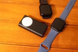 【レビュー】Apple Watchを3.5回充電!Belkin BOOST CHARGE  Apple Watch用モバイルバッテリー