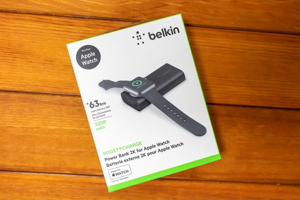 Belkin Apple Watch用モバイルバッテリーの外箱