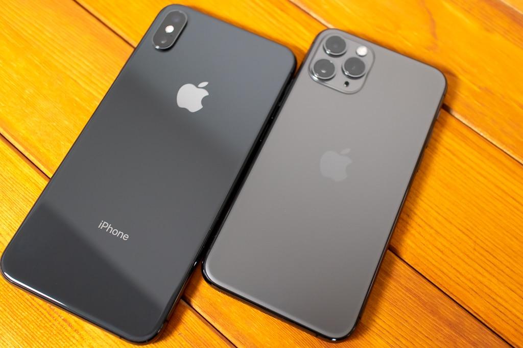 iPhone XS MaxとiPhone 11 Pro
