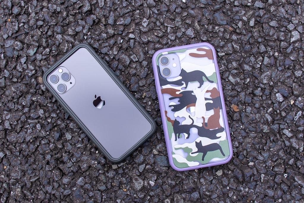 RhinoShield iPhone 11 / 11 Pro バンパー&ケースの特徴