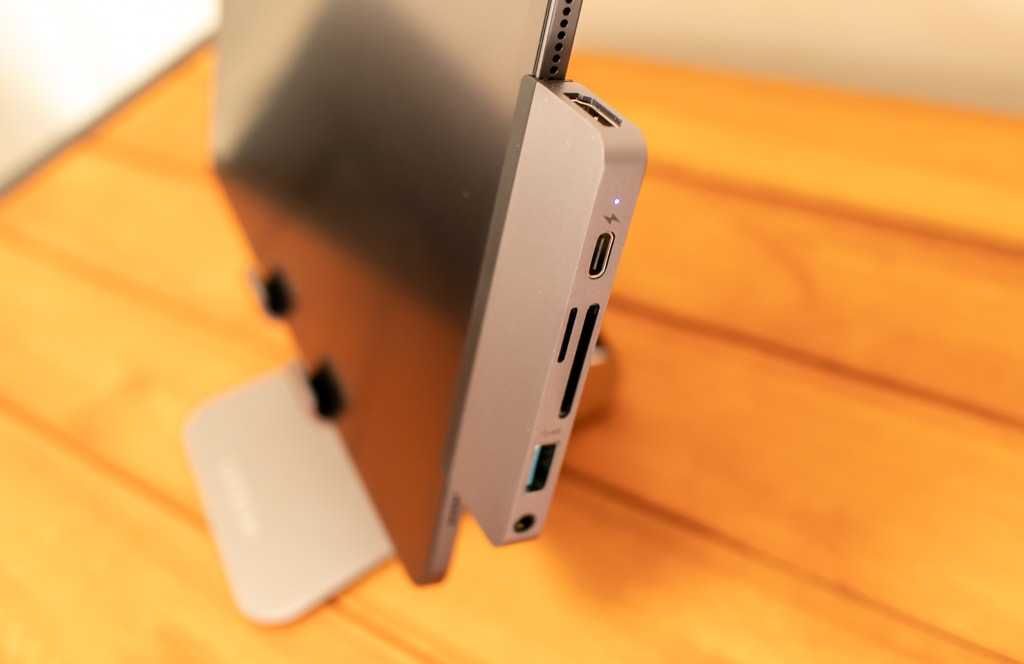 HyperDrive iPad Pro USB-Cハブは正しく接続するのがポイント