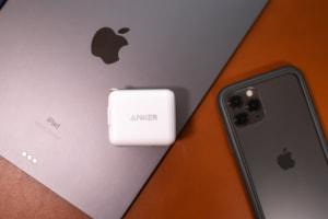 【レビュー】iPad Proを急速充電できる30Wの小型USB-C充電器 Anker PowerPort III mini