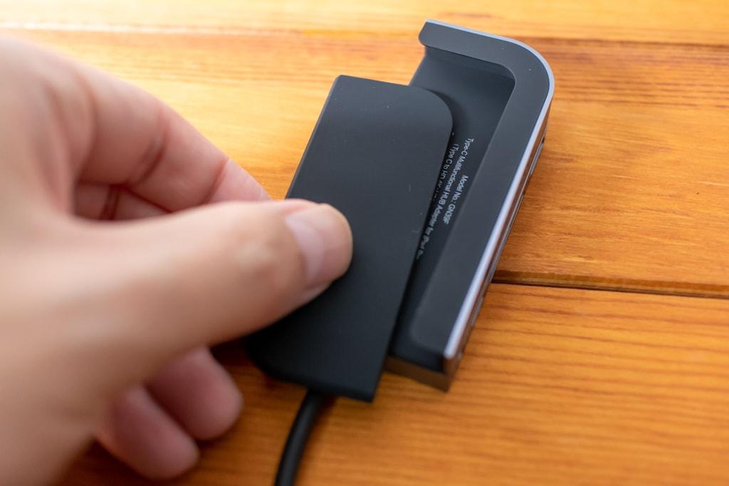 Baseus Bolt iPad Pro USB-Cハブには中敷きが