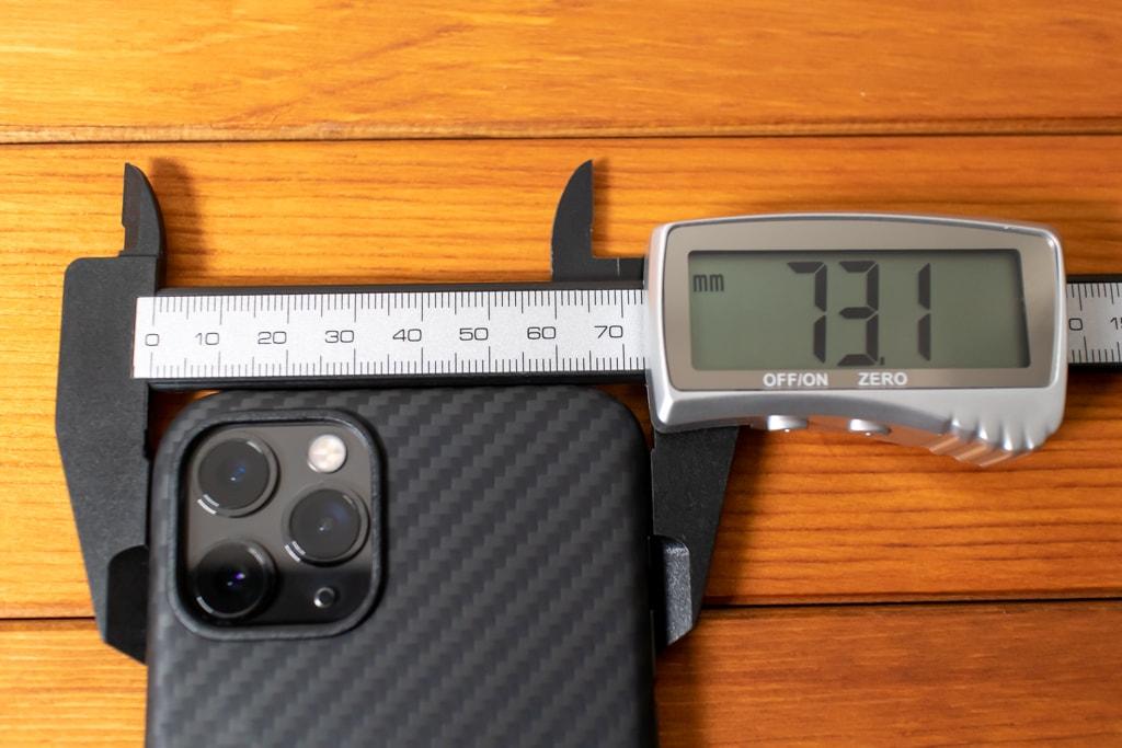 とにかく薄いPITAKAのiPhone 11 Proケース