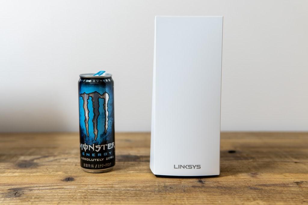 LINKSYS Velop AX MX5300のサイズ感