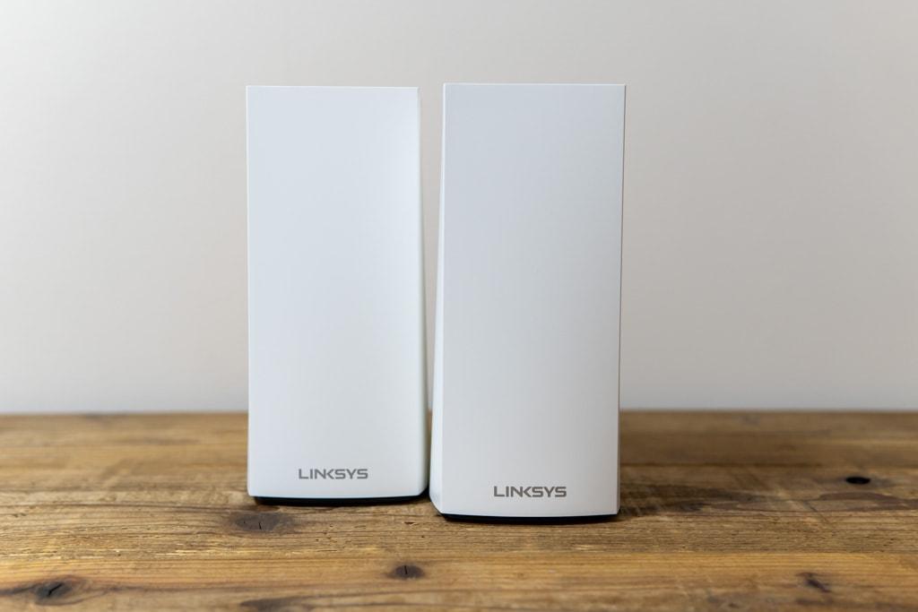 LINKSYS Velop AX MX5300はよじれたデザインでおしゃれ