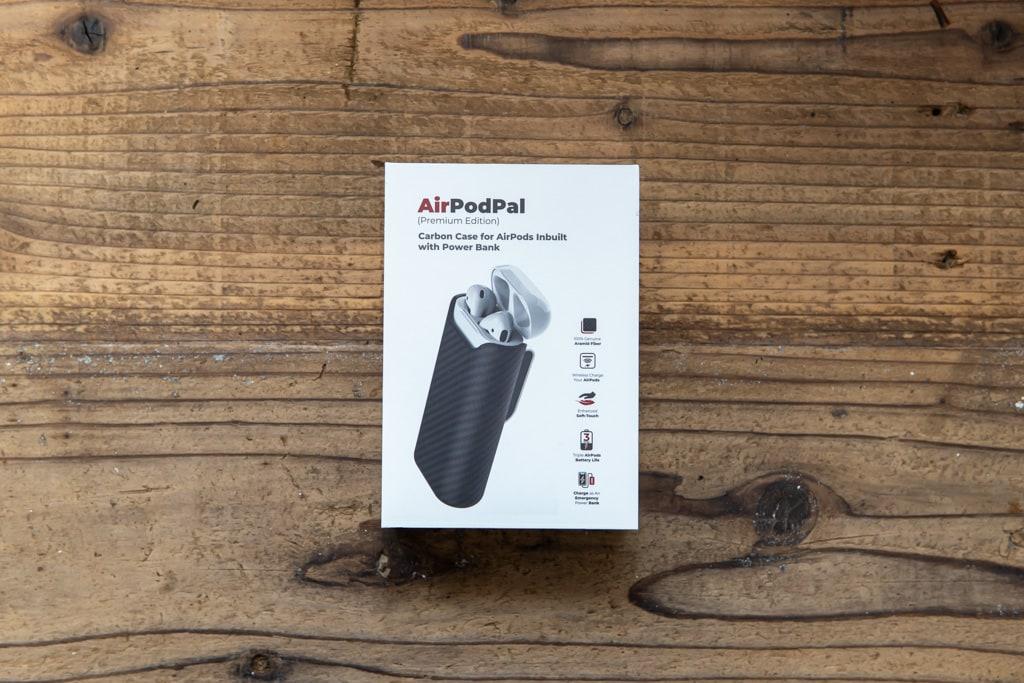 ワイヤレス充電可能なモバイルバッテリー付きAirPodsケース「PITAKA Air Pal」